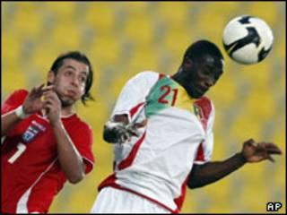 دیدار فوتبال مالی