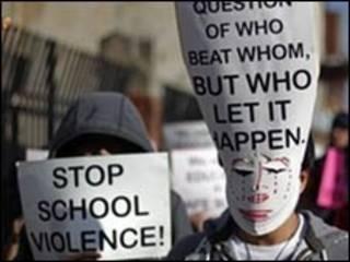 Biểu tình chống bạo lực trường học tại Philadelphia