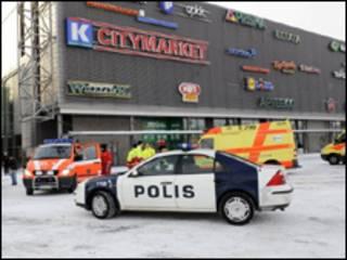 Centro comercial donde ocurrió el tiroteo
