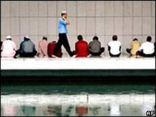Oraciones de musulmanes en Malasia