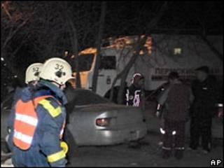 Пожарные в Перми