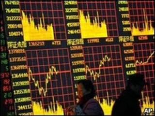 La bolsa de valores en China