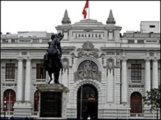 El congreso peruano