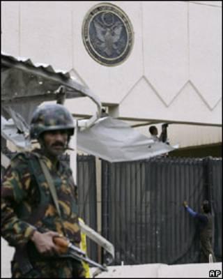 Embajada de EE.UU. en Yemen (Archivo)
