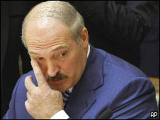Президент Белоруссии Александр Лукашенко (27 ноября 2009 года)