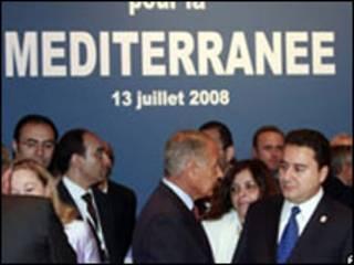 دبلوماسيون في اجتماع باريس