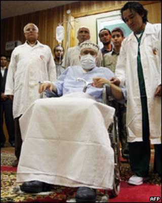 O líbio Abdelbaset al-Megrahi