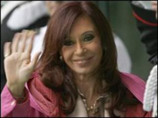 الرئيسة فيرنانديز