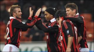 Beckham tại AC Milan