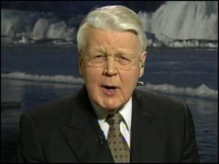 Presidente de Islandia, Olafur Grimsson.