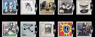 Sellos postales.