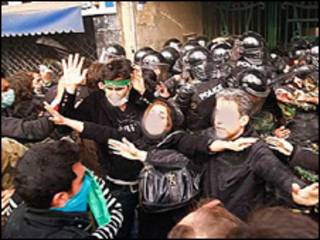 تظاهرات روز عاشورا