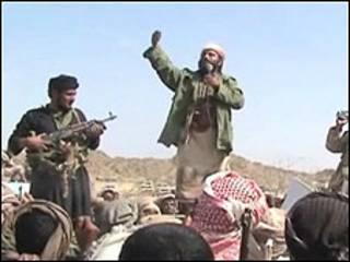 عناصر بتنظيم القاعدة في اليمن