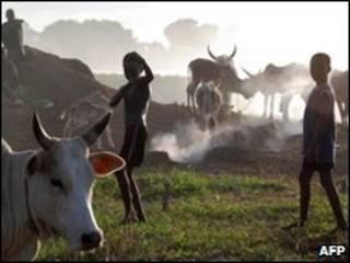 رعاة من جنوب السودان