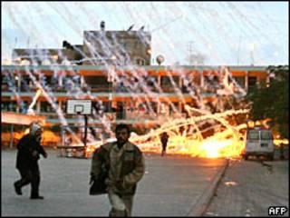 Ataque israelí contra escuela de la ONU en Gaza