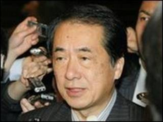 Bộ trưởng Tài chính Nhật Naoto Kan