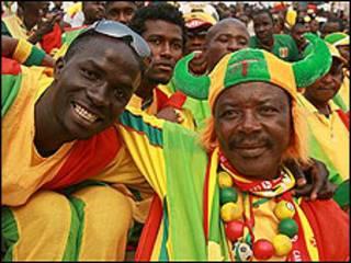 Seguidores del equipo de Togo