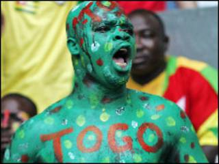 टोगो का एक प्रशंसक