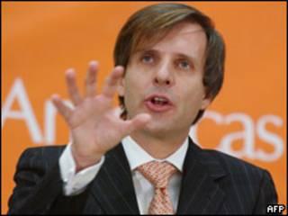 Martin Redrado, presidente Banco Central Argentina