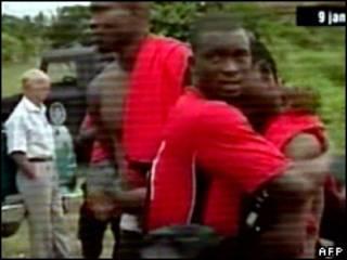Jogadores do Togo