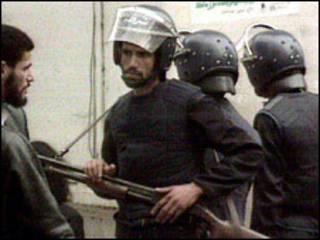 نیروهای امنیتی الجزایر
