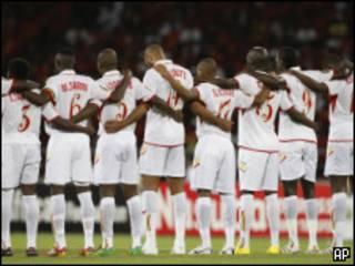 Игроки сборной Мали