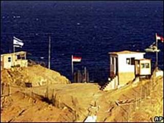 На израильско-египетской границе