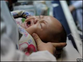 Bebê na China