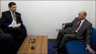 Встреча Данни Аялона и Ахмета Огуза Челиккола