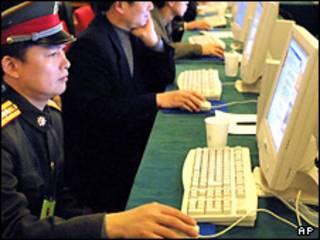 Хитойдаги интернет кафе