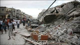 Puerto Príncipe, epicentro del horror