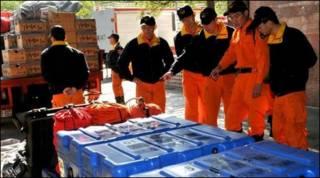Equipe de resgate de taiuaneses se prepara para enviar suprimentos para o Haiti