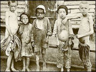 Жертвы голодомора