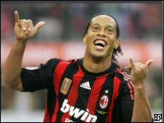 Dan wasan AC MIlan Ronaldinho