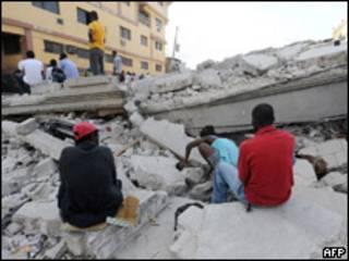 Puerto Príncipe tras el terremoto