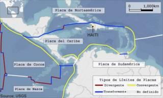 Ubicación geológica de Haití