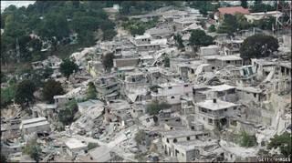 हेती में भूकंप से तबाही