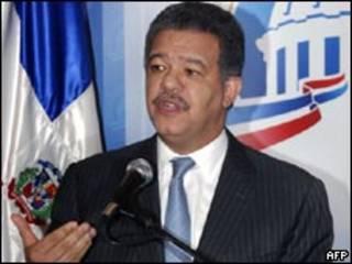 Leonel Fernández, presidente de República Dominicana.
