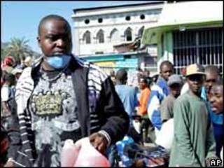 La falta de gas provoca largas filas en Puerto Príncipe