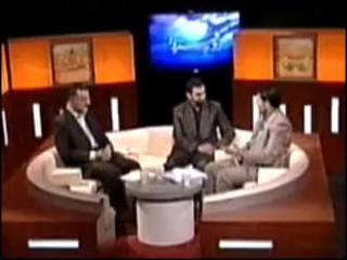 مناظره تلویزیونی میان جواد اطاعت و علیرضا زاکانی در یک برنامه تلویزیونی