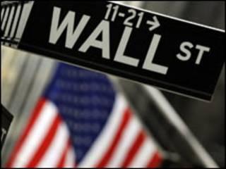Imagem de Wall Street, nos Estados Unidos