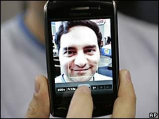 Teléfono Blackberry, de RIM
