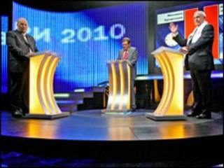 Теледебати у першому турі були без головних кандидатів