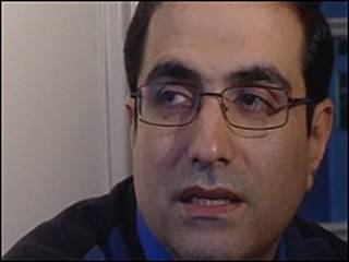 محمد رضا حیدری کنسول مستعفی ایران در نروژ