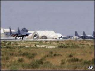 Base aérea de Bagram (foto tomada en septiembre de 2009)