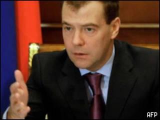 Presidente ruso, Dmitry Medvedev