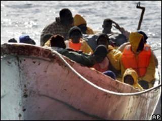 Emigrantes ilegales