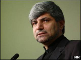 O porta-voz do Ministério do Exterior iraniano, Ramin Mehmanparast (arquivo)