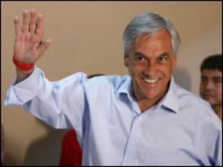 O presidente eleito do Chile, Sebastián Piñera