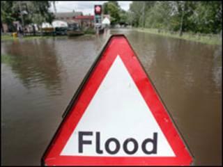 英国2007年夏天水灾